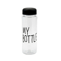 filtered drink bottle,filtered water bottle plastic,Tritan flat water bottle