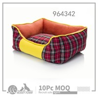 New square shaped pet bed for dogs