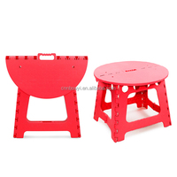factory price outdoor single handle folding plastic table