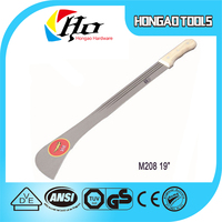 M206 M206A M208 M204 All kinds Types of Corn Knife/grass slasher/ sugar cane machete/Steel Matchet
