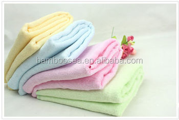 Bamboo Charcoal Fabric Bath Towel for Baby
