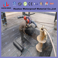 Polyester bituminous asphalt rolls for roofing