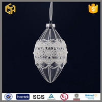 Hand painted hanging christmas glass ball ornaments crafts