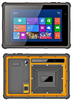 8 inch windows 10 tablet with NFC , 2D Barcode Scanner , Finger print scanner rugged windows tablet