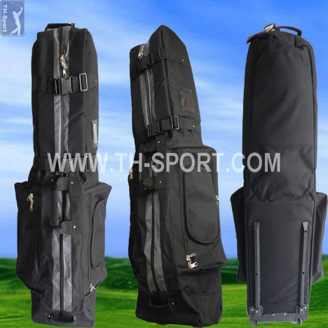 Deluxe Padded Golf Travel Cover