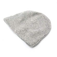 High quality long ribbed cotton acrylic cuffed cheap plain custom knitted beanie