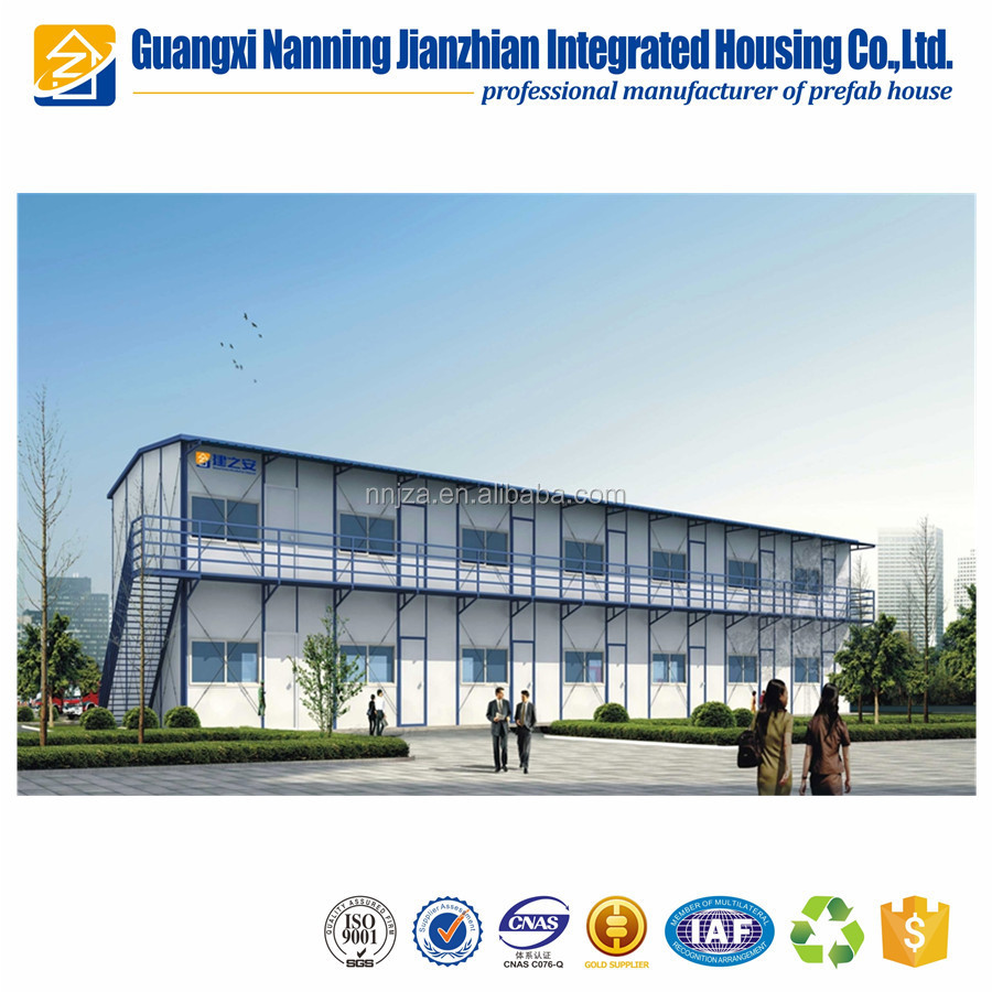 Low cost prefabricated house refugee house quick install prefab house