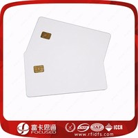 C80 size printable blank nfc credit card with rf tag