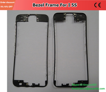Black Or White Bezel Frame For Phone 5s 5C 5G Cracked LCD Glass Replacement Normal Mobile Phone Frames