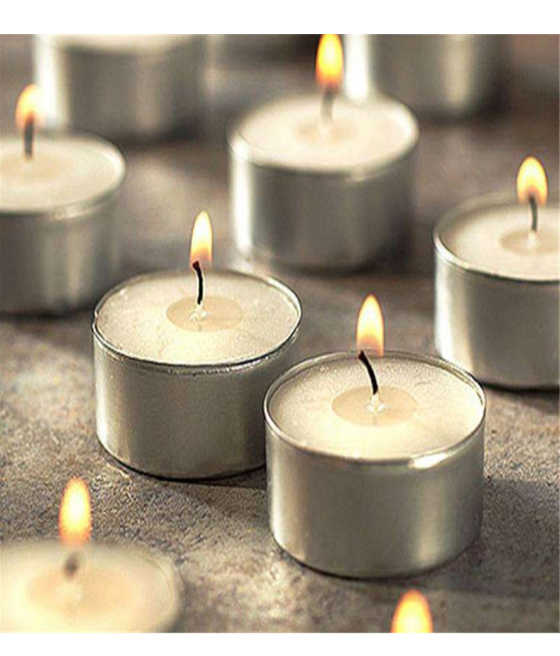 aluminum tealight candle holders tea jar