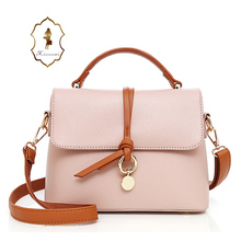 Hot sale custom made PU Leather Handbag For Ladies Young Girls Shoulder Bags beautiful girl leather handbags