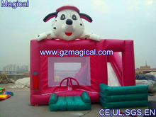 Firedog belly inflatable jumping bouncer