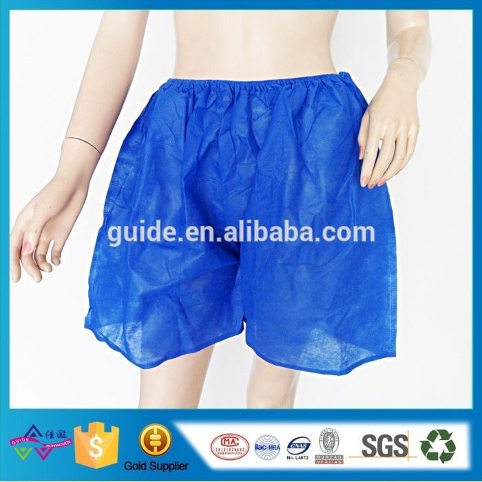 Factory Cheap Boxer Briefs High Quality Disposable Boxer Plus Size Underwear For Sauna