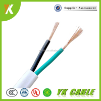 Flexible electrical wire BVVB 2 core 16mm PVC power cable