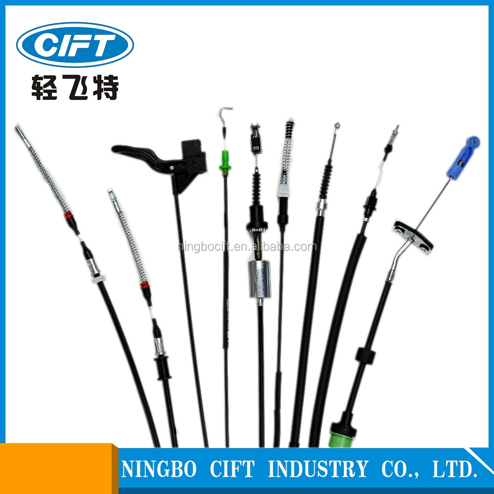 auto parts 9000 types brake cable clutch cable accelerator cable gear shift cable speedometer cable and PTO auto control cable