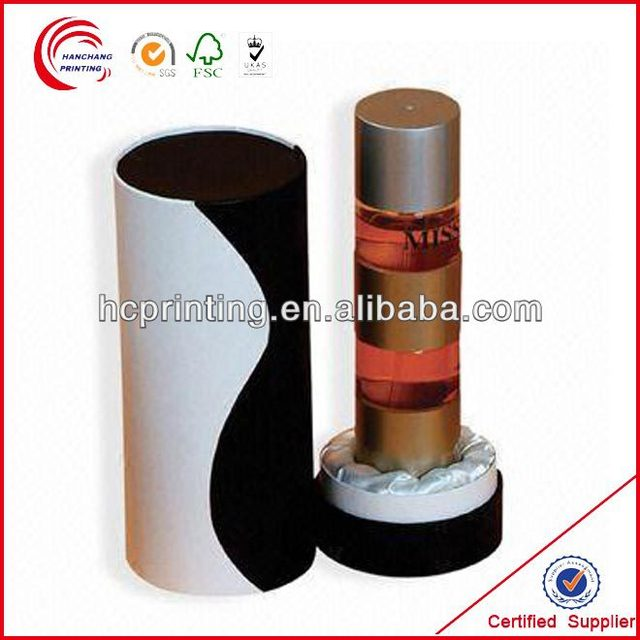 Round fragrance box /perfume packaging box factory