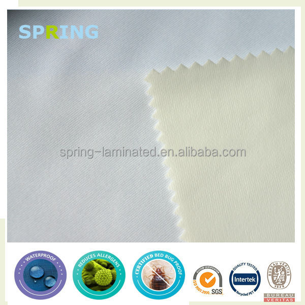 100 Polyester Anti-bacterial Stretch Waterproof Breathable Fabric