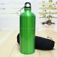 Sports Cycling Camping Hiking Bicycle Bike Metal Water Bottle