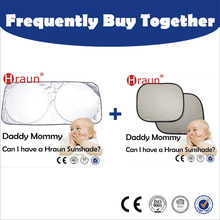 Frequently Buy Together Silver Car Front Windshield Sunshade +Sliver Car Side Window Sunshade