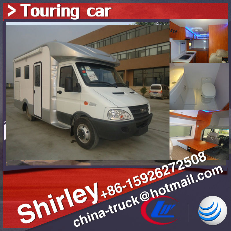Self-propelled motor caravan,touring car,family car,house truck