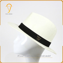 Most popular products fashion paper material gamboa genuine panama hats