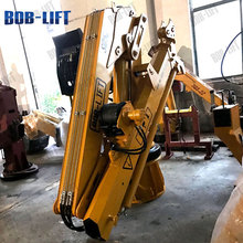wholesale knuckle boom 5 ton marine crane with hydraulic winch