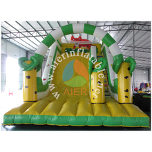 2016 beautiful and giant used tiger Inflatable slide