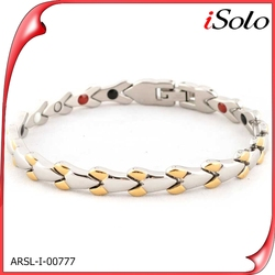 New gold chain design for men alibaba india magnetic copper bracelets