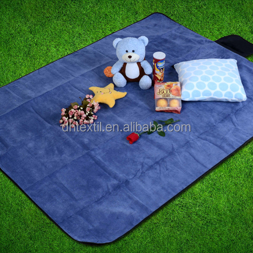 Printed Disposable Waterproof Foldable Picnic Fleece Beach Blanket