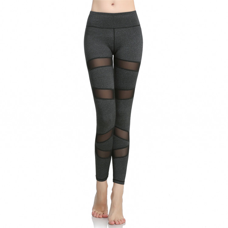 Mesh Patchwork Yoga Fitness Tights