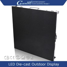 Advertisement board design die-cast outdoor screen 3d video led advertising panel