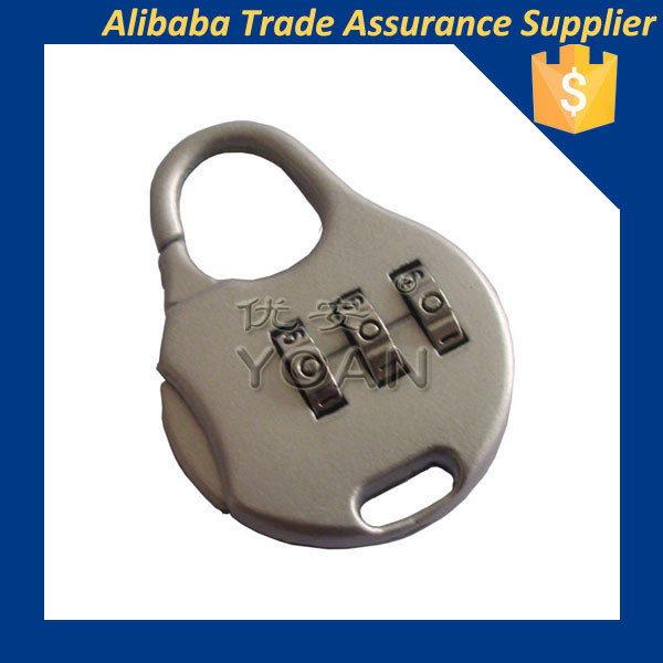 top quality mechanical password combination pad luggage bag locks
