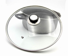 China multifunctional glass lid & cover for pots
