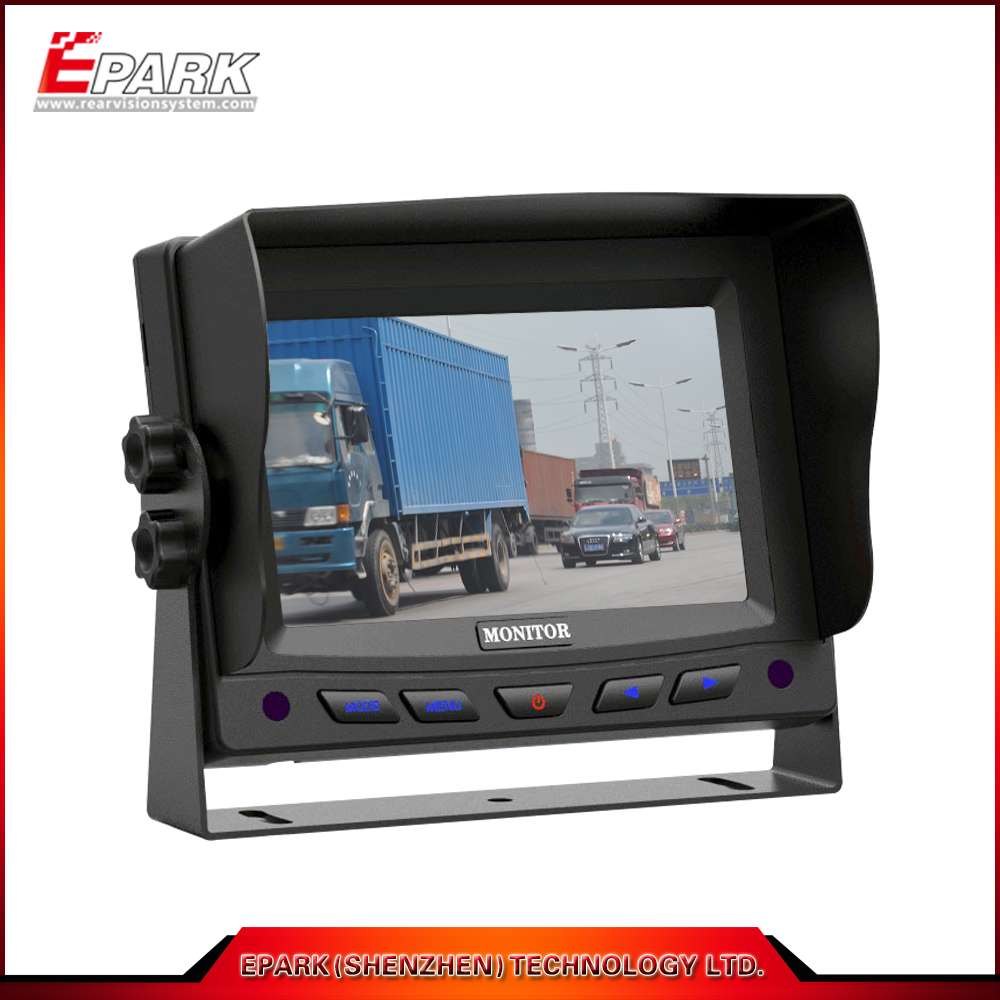 HOT SALE tft car monitor best price 5 inch hd car monitor