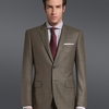 Notch Lapel 100 Wool Two Buttons