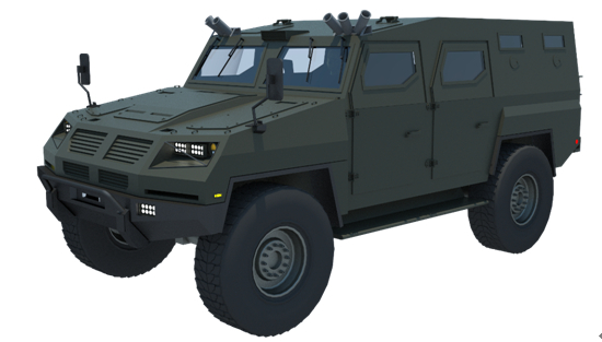 Bulletproof Vehicle APC for Military Use from China Xinxing