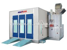 commercial spray booth is car painting equipment with centrifugal fans