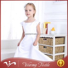 wholesale party princess white demask exquisite beaded girl dress