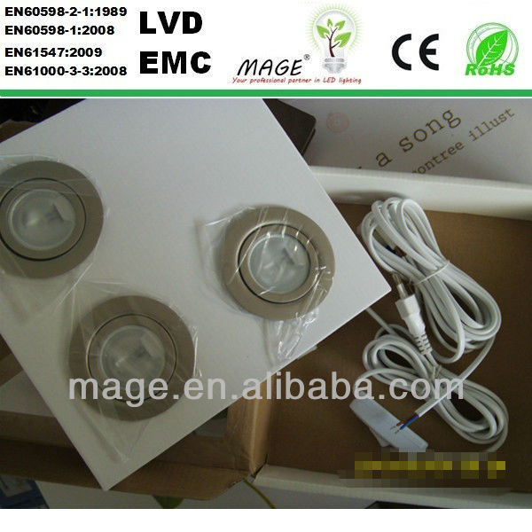 DIY LED G4 bulb cabinet cob led down light