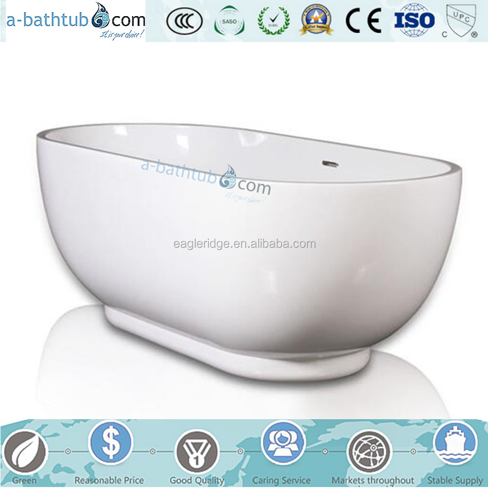 Same design as artificial stone bathtub for bathroom