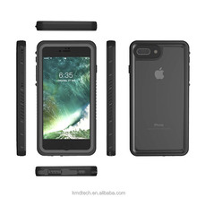 Underwater Diving Waterproof Phone Cases Ultra Thin Shockproof Hybrid Rock Hard Silicone PC TPU Cover Case For iPhone 7 plus