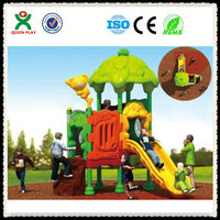 2014 hot sale!!! 18 years golden supplier kids playground/playground games for kids/outdoor play QX-073A