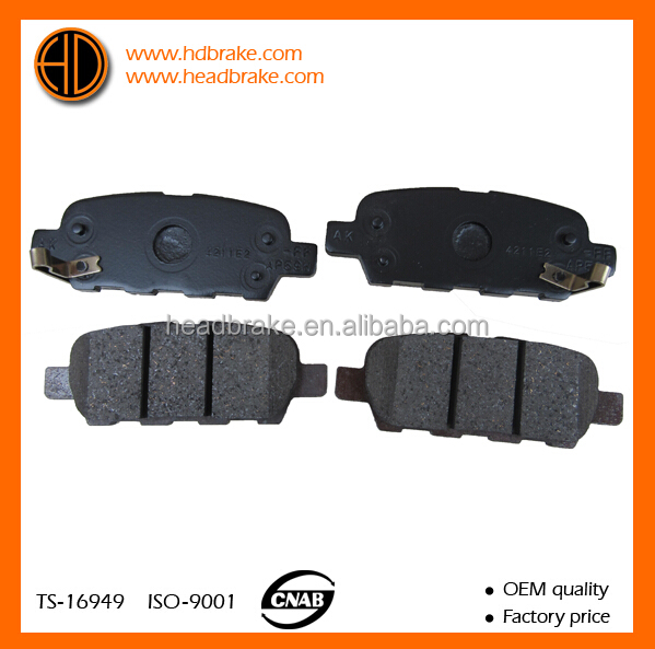 akebono brake pads for nissan tiida D4060-JA00J