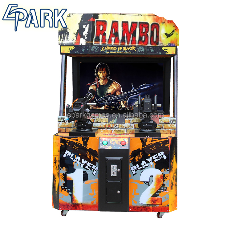 Cool Rambo Shooting Game Machine shooting arcade game machine