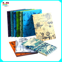 new design hardcover note book promotional items printing service in china