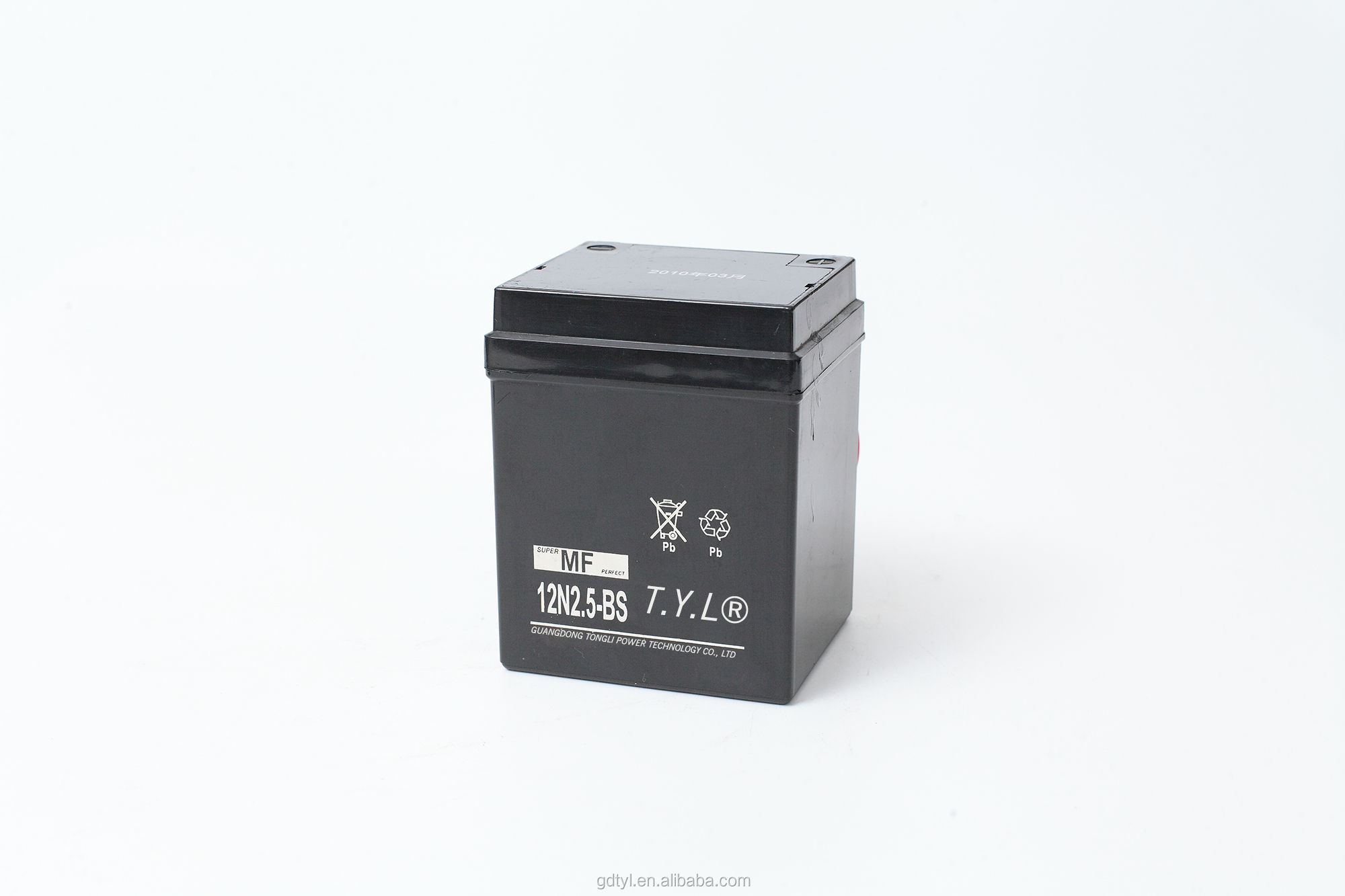 Low price of motorcycle lead acid battery for wholesales