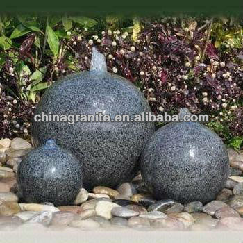 polished granite ball