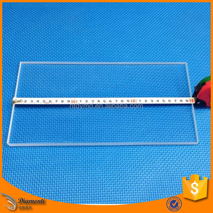 Borosilicate square tempered glass plate for 3D printer