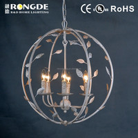 newest design ball shape iron classical chandelier