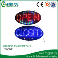 (HSO0061) Hidly flashing high brightness led sign factory